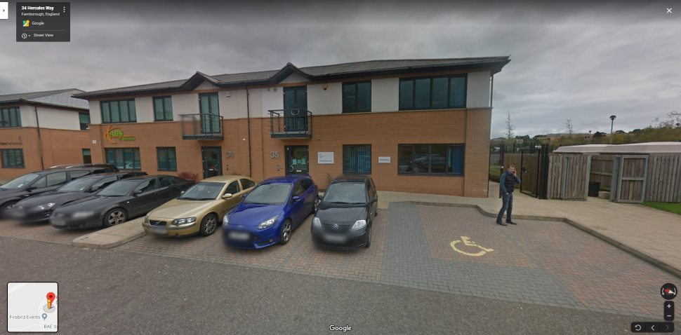 Streetview Image #1 for Farnborough Test Centre