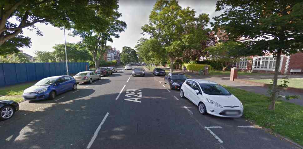 Folkestone Google Streetview Image A259