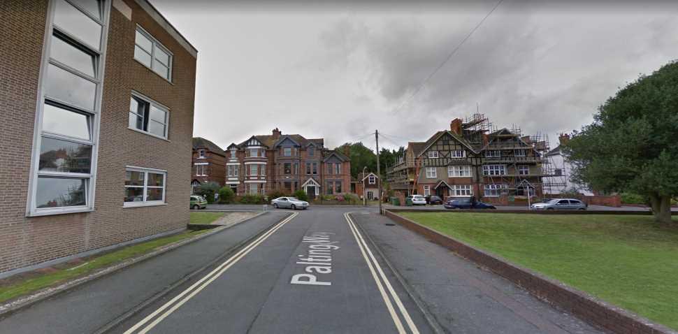 Folkestone Google Streetview Image Junction