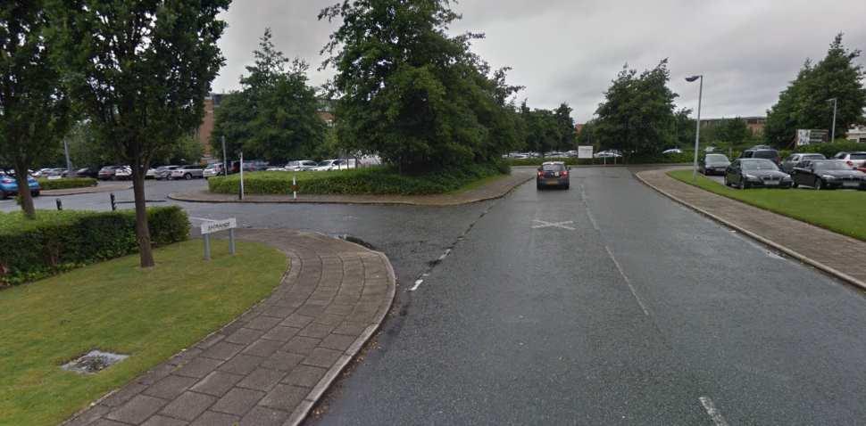 Garston (Speke) Google Streetview Image Entrance