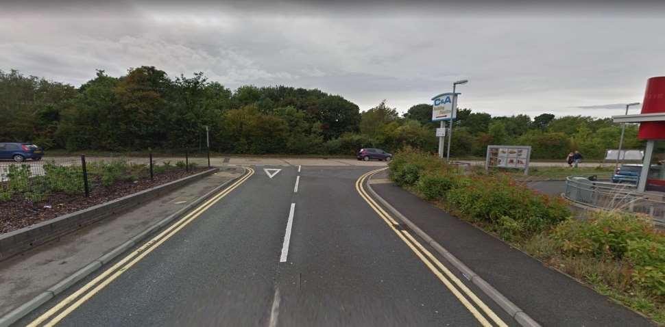 Gillingham Google Streetview Image Junction