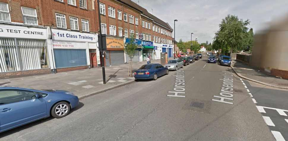 Greenford Google Streetview Image Horsenden Lane
