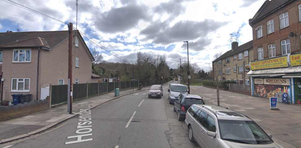 Greenford Google Streetview Image Main Road