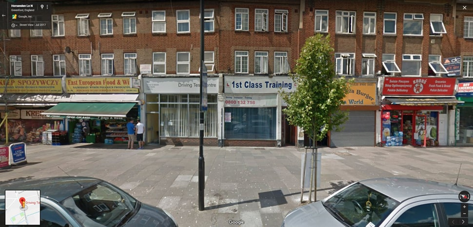 Streetview Image for Greenford (London) Test Centre