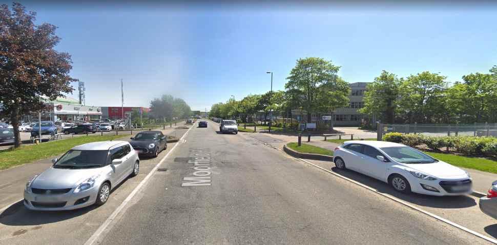Guildford Google Streetview Image Moorfield Road