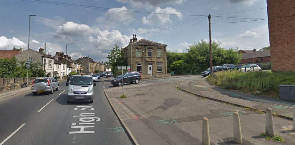 Heckmondwike Google Streetview Image High Street