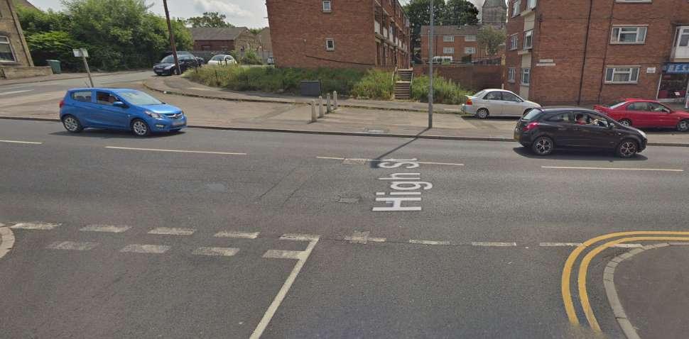 Heckmondwike Google Streetview Image Junction