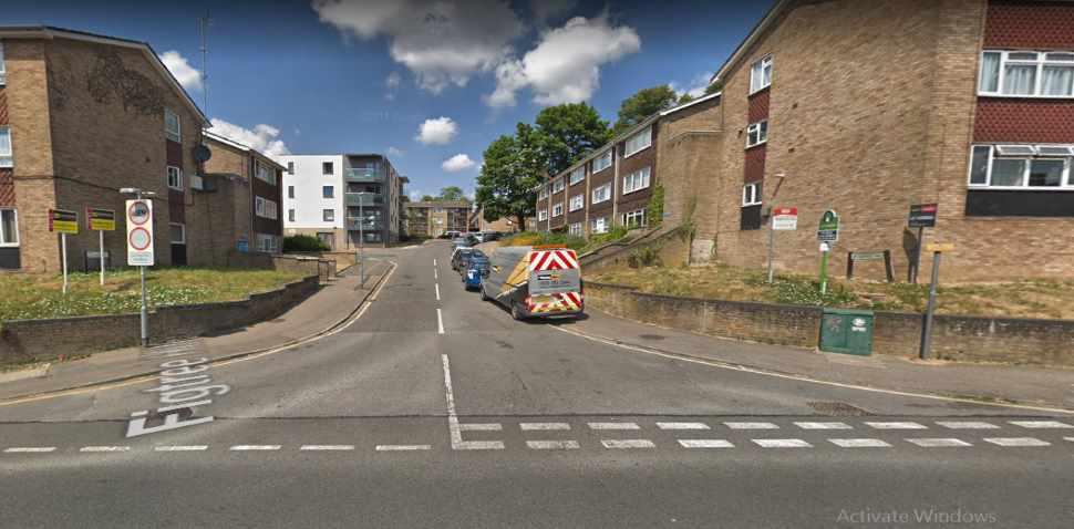 Hemel Hempstead Google Streetview Image Figtree Hill