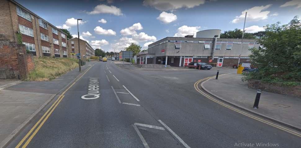 Hemel Hempstead Google Streetview Image Queensway