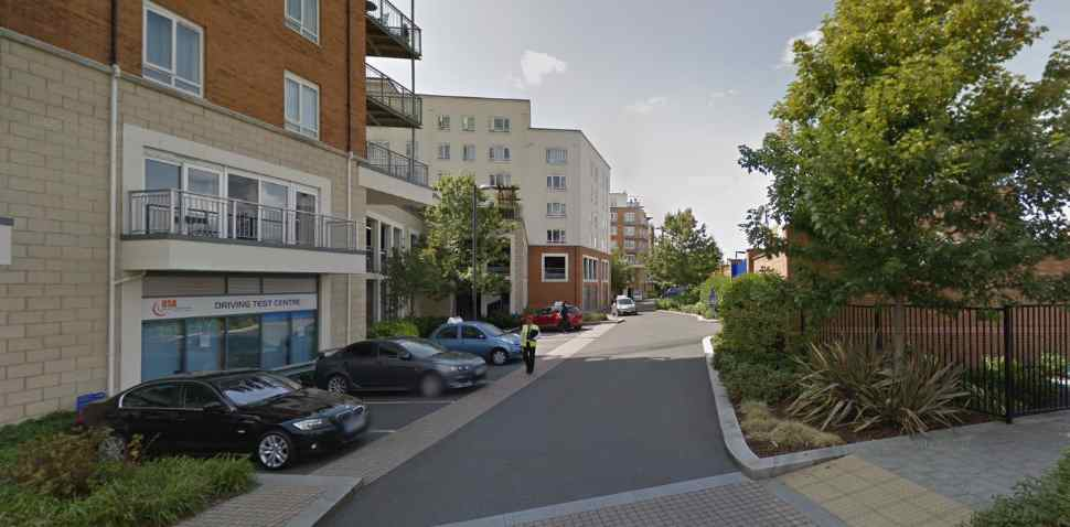 Hendon Google Streetview Image Parking