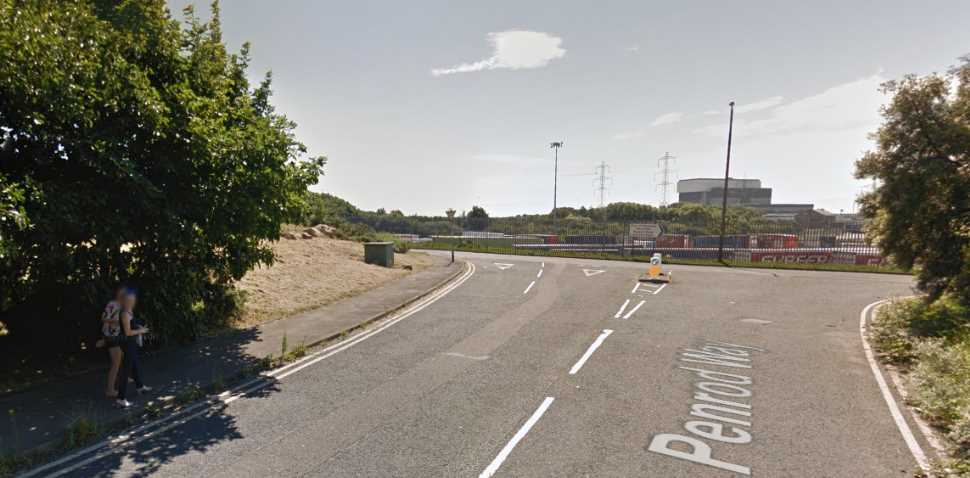 Heysham Google Streetview Image Junction