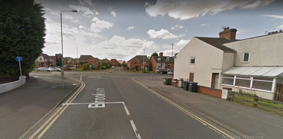 Hinckley Google Streetview Image Brookside Junction