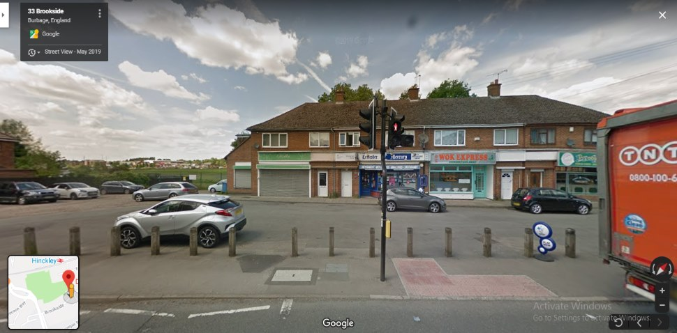 Hinckley Google Streetview Main Image