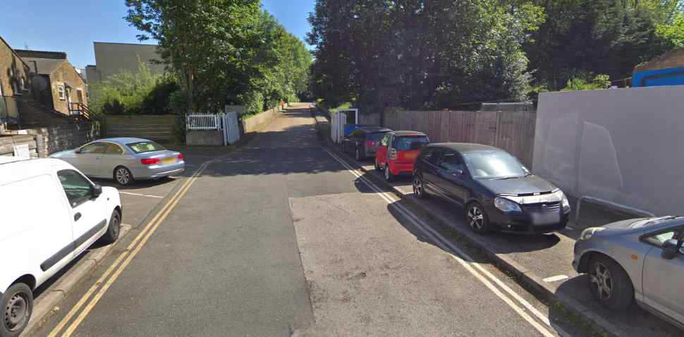 Hither Green Google Streetview Image Parking