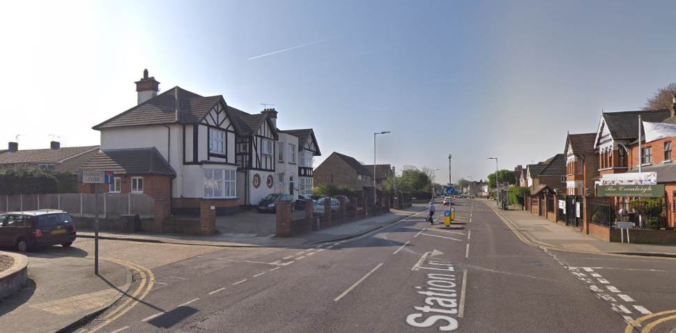 Hornchurch Google Streetview Image Crossroads