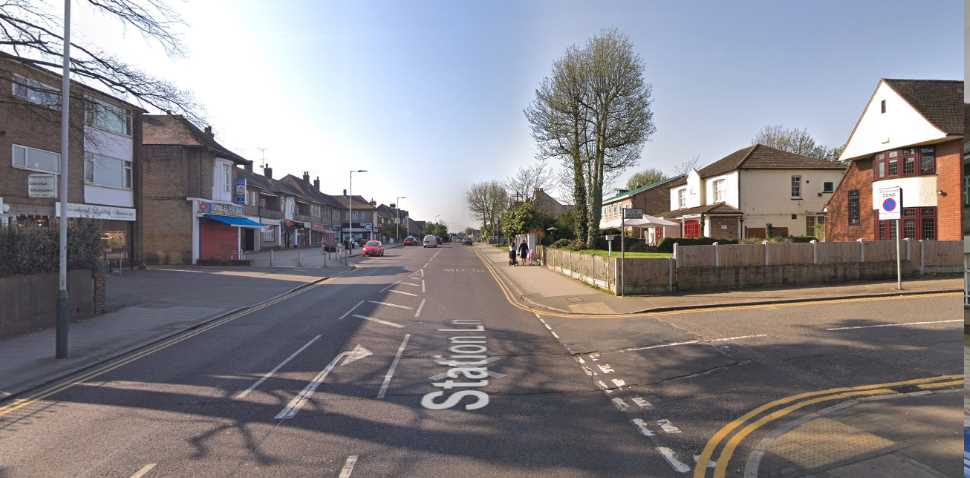 Hornchurch Google Streetview Image Junction