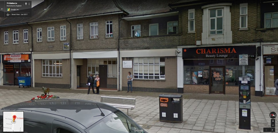 Streetview Image for Hornchurch (London) Test Centre