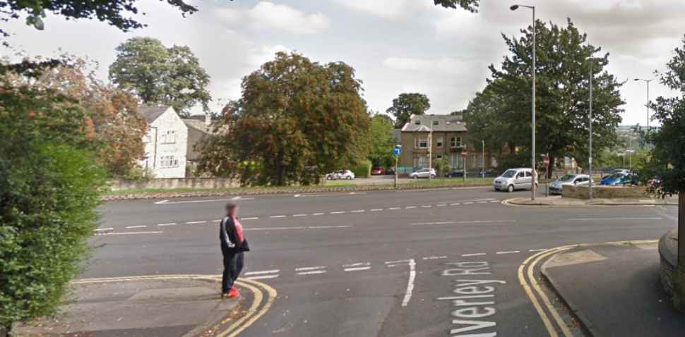 Huddersfield Google Streetview Image Junction