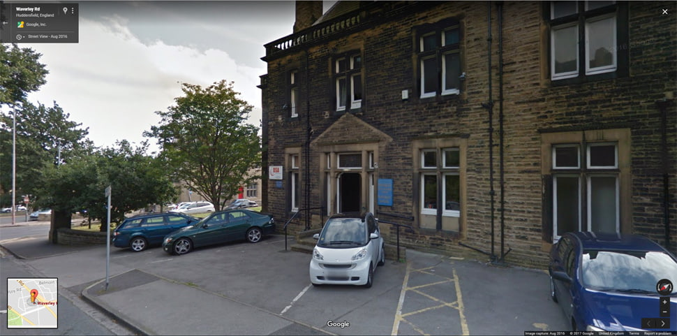 Streetview Image for Huddersfield Test Centre