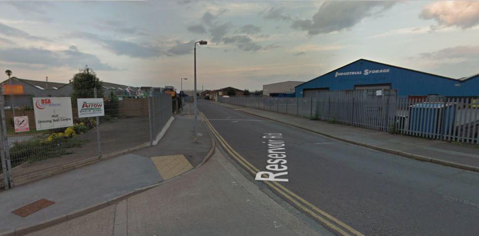 Hull Google Streetview Image Reservoir Road
