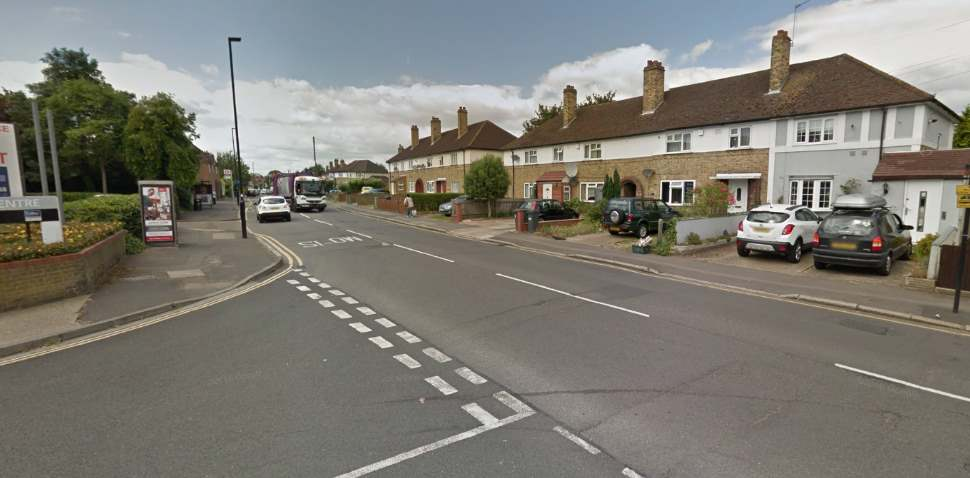 Isleworth Google Streetview Image Worton Road