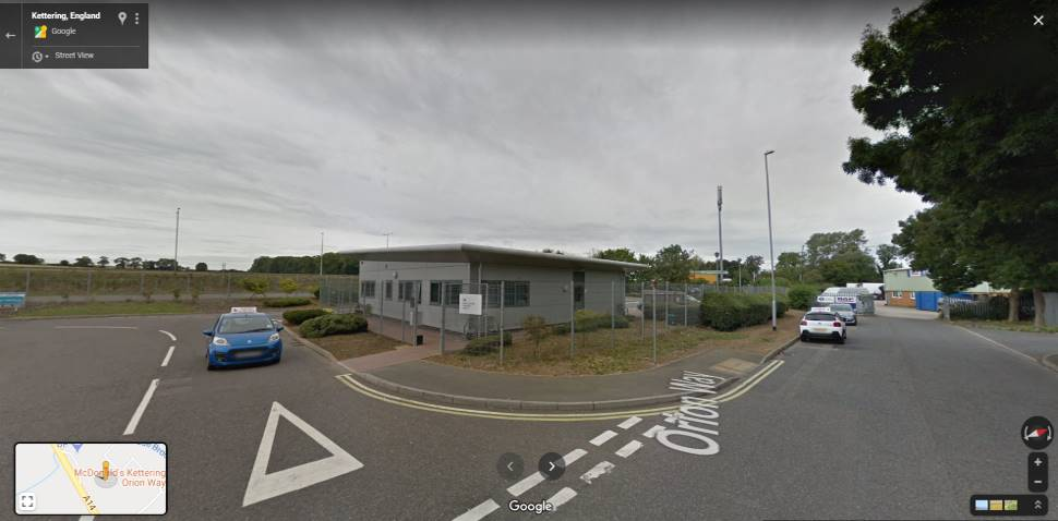 Streetview Image #1 for Kettering Test Centre