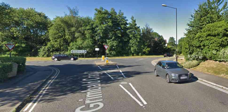 Knaresborough Google Streetview Image Junction