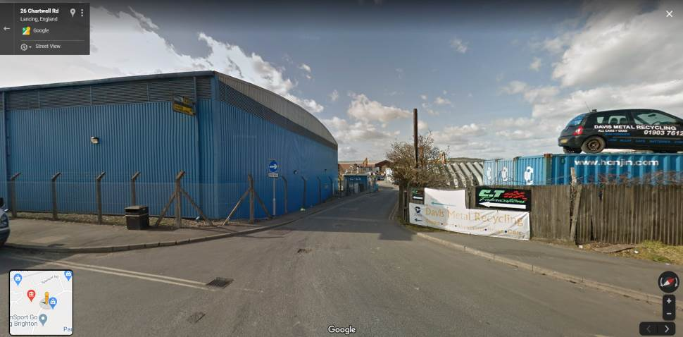 Streetview Image #1 for Lancing Test Centre
