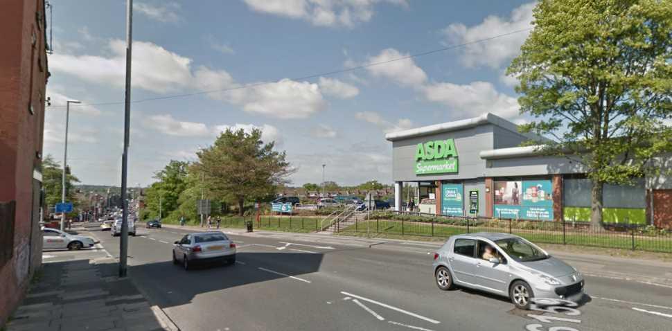 Leeds Google Streetview Image Main Road
