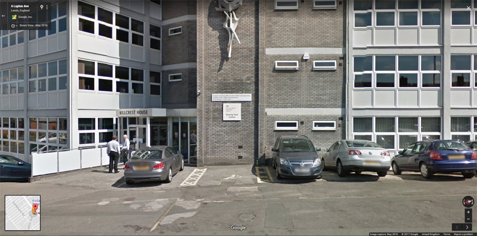 Streetview Image for Leeds Test Centre