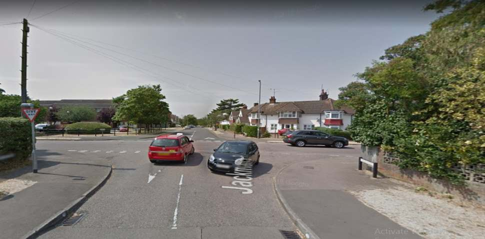 Letchworth Google Streetview Image Junction