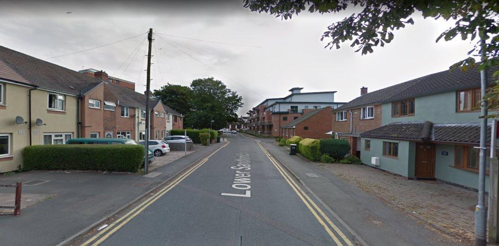 Lichfield Google Streetview Image Sandford Street