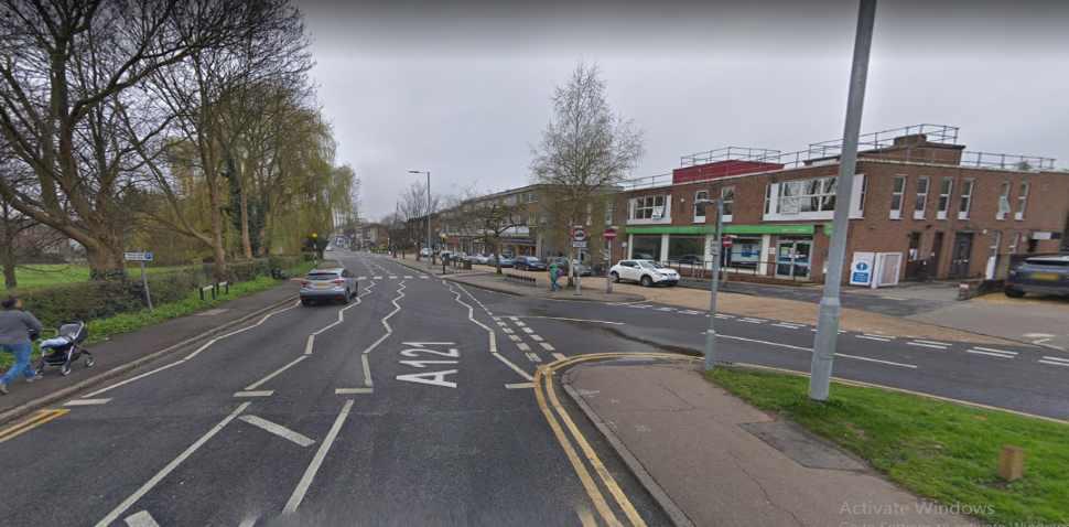 Loughton Google Streetview Image A121