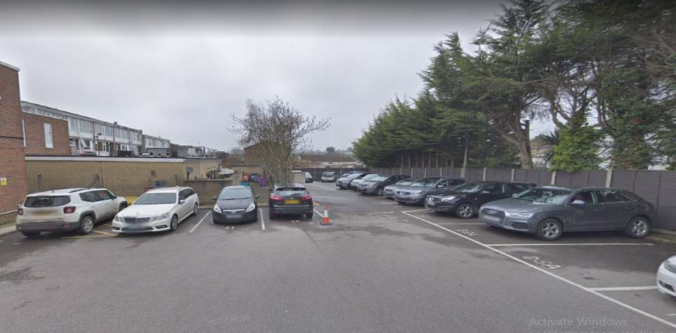 Loughton Google Streetview Image Car Park