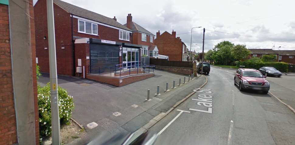 Lower Gornal Google Streetview Image Leading Road