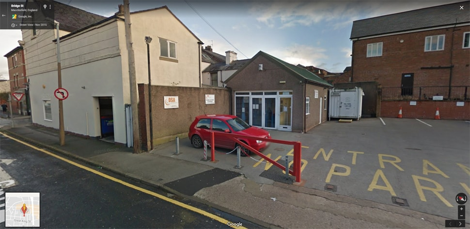 Streetview Image for macclesfield Test Centre