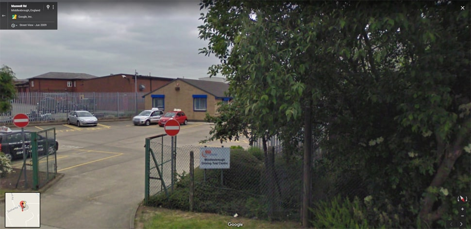 Streetview Image for middlesbrough Test Centre