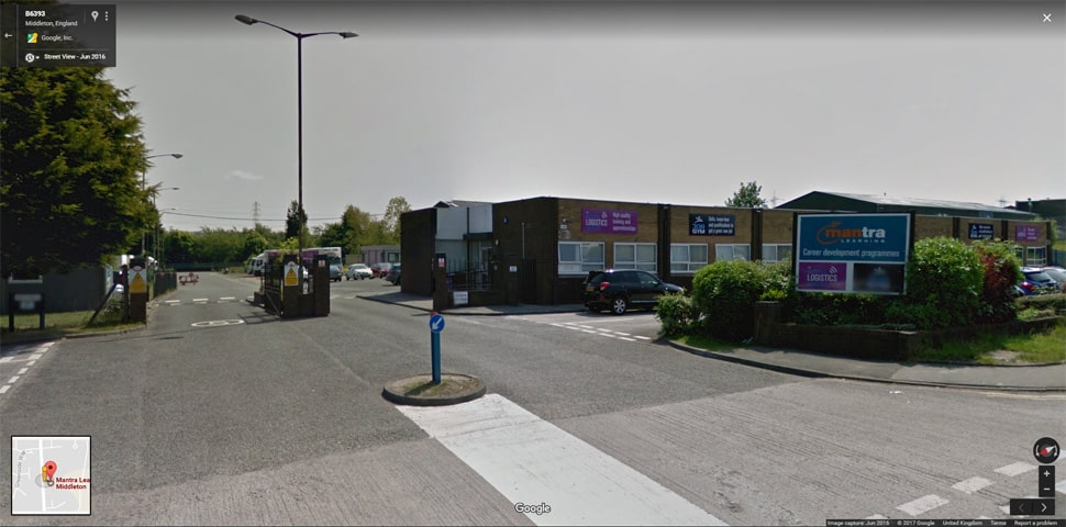 Streetview Image for middleton Test Centre