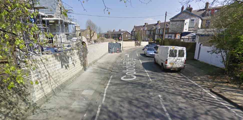 Nelson Google Streetview Image Cobden Street