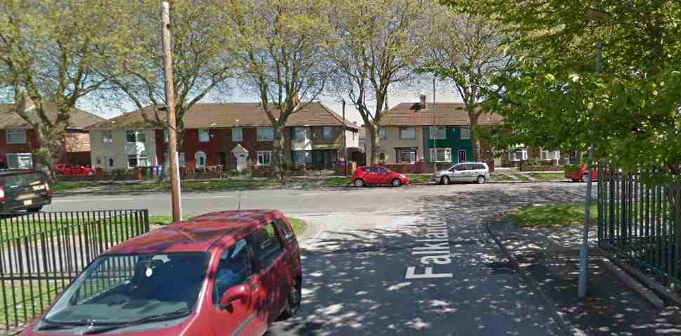 Norris Green (Liverpool) Google Streetview Image Junction