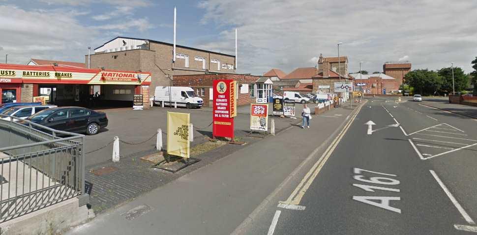 Northallerton Google Streetview Image A167