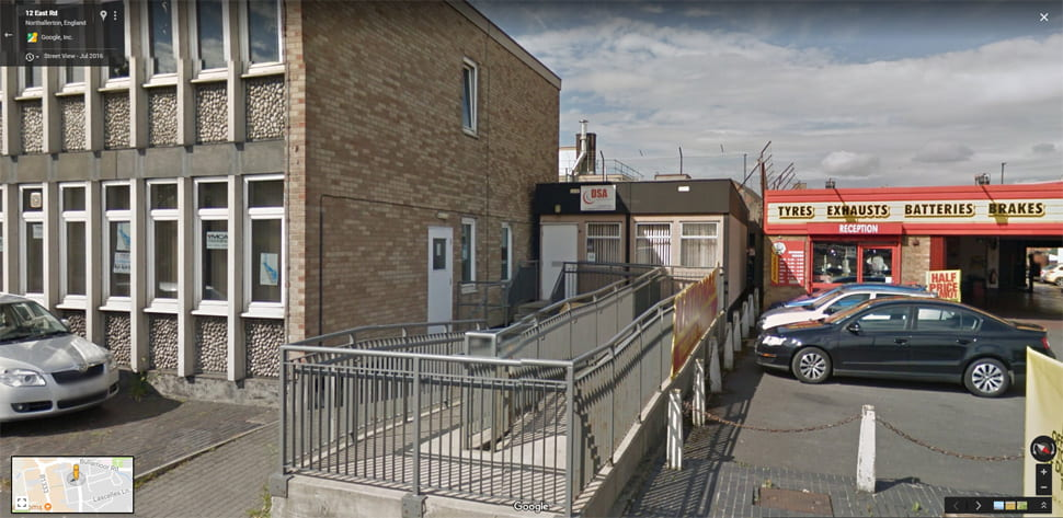 Streetview Image for northallerton Test Centre