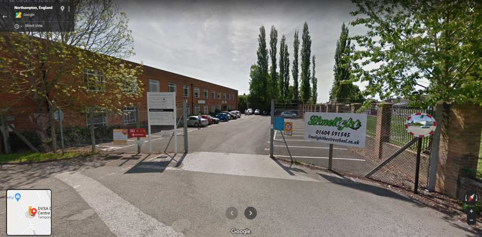 Streetview Image #1 for Northampton Test Centre