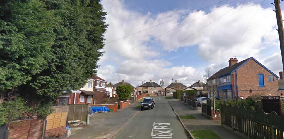Northwich Google Streetview Image Felix Road