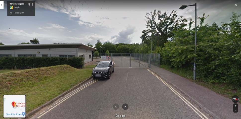 Streetview Image #1 for Norwich (Peachman Way) Test Centre
