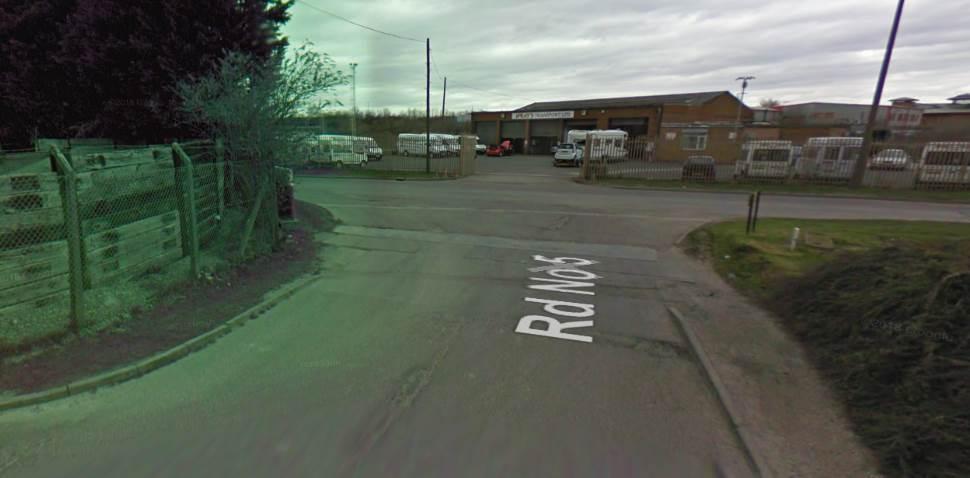 Nottingham (Colwick) Google Streetview Image Exit