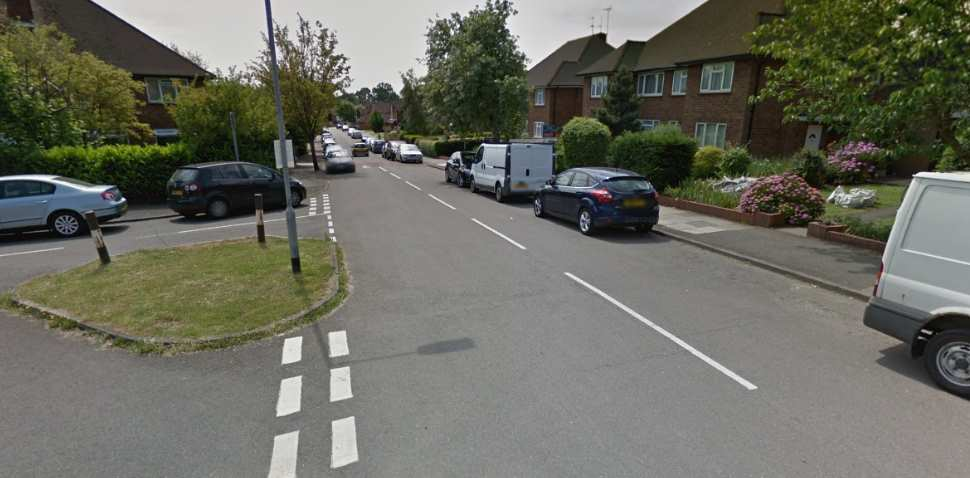 Pinner Google Streetview Image Tolcarne Drive