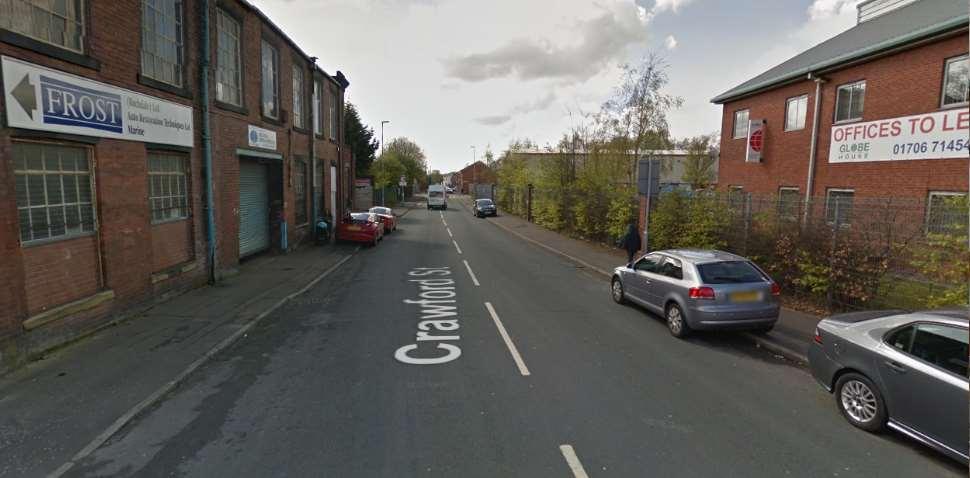 Rochdale Google Streetview Image Crawford Street