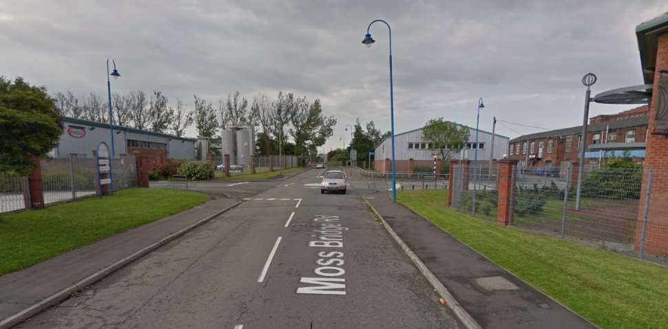 Rochdale Google Streetview Image Roundabout