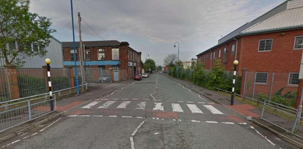 Rochdale Google Streetview Image Zebra Crossing